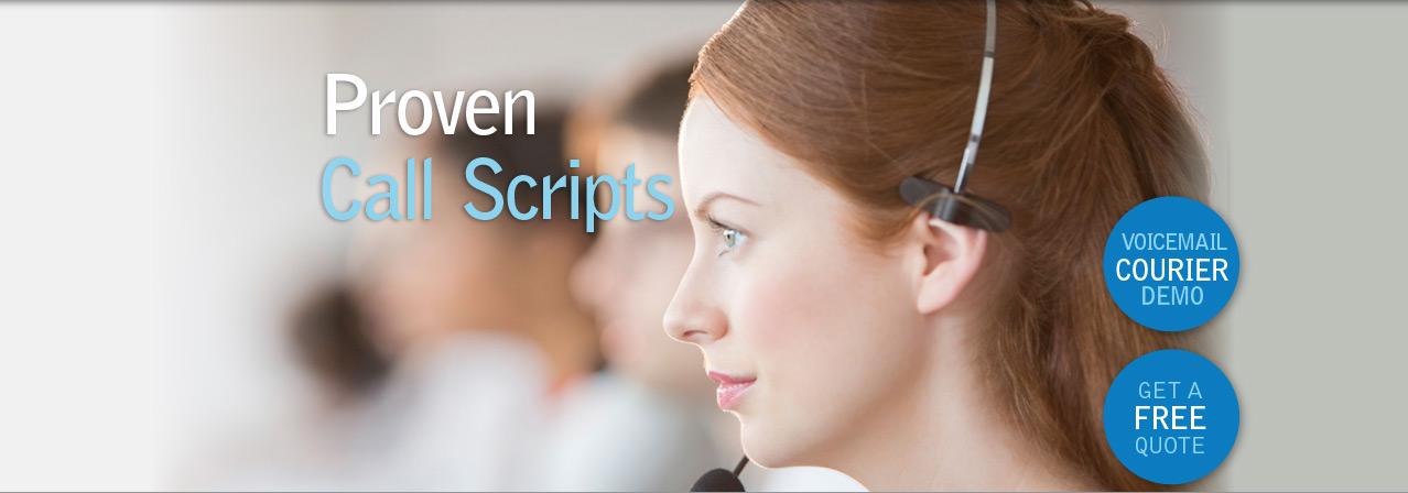 Proven Call Scripts
